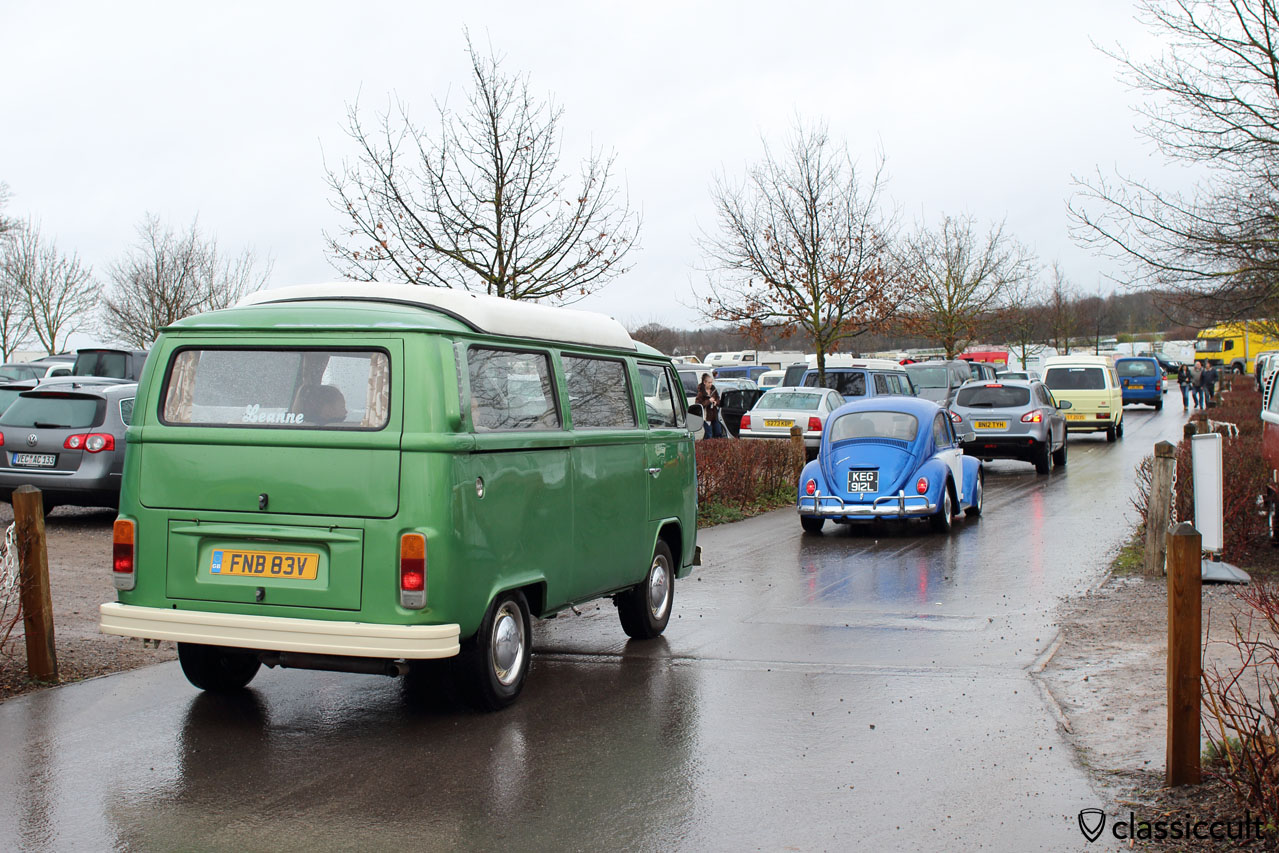 VW Fans cruising to Volksworld Show
