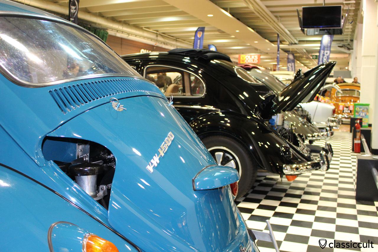 VW 1500 Beetle hood with carburetor holes