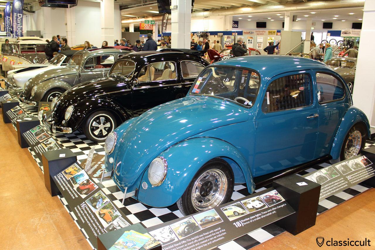 Cal look VW Beetle, Volksworld 2015