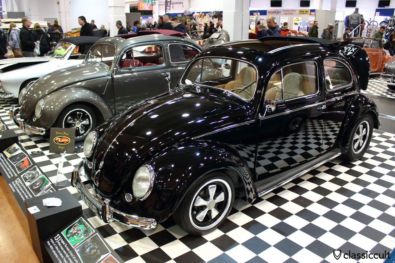 Ragtop Beetle with bumper guards and fuchs wheels