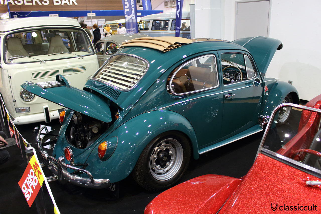 1967 Judson VW Beetle, jave green paint