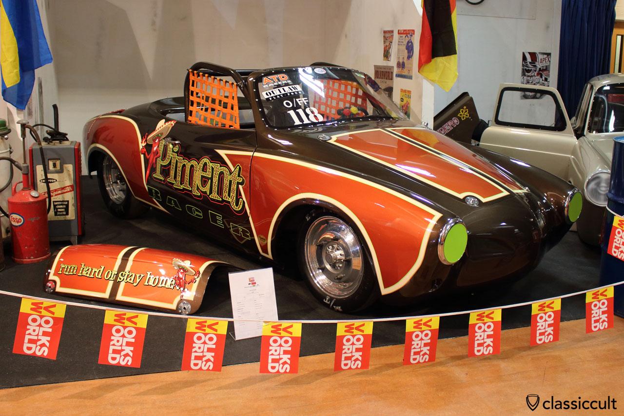 VW Karmann Ghia Convertible Fiber 1961 Racer