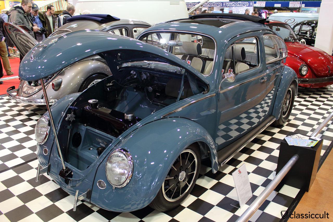 1958 Cal look Ragtop VW Beetle from Neil Ellis, Best of Show, VolksWorld 2015