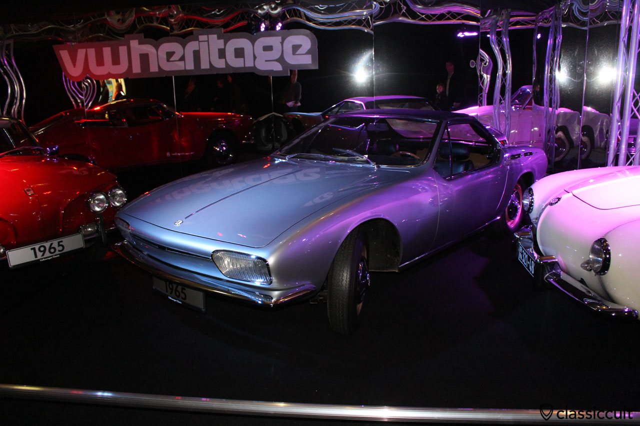 Karmann Ghia convertible concept car from 1965