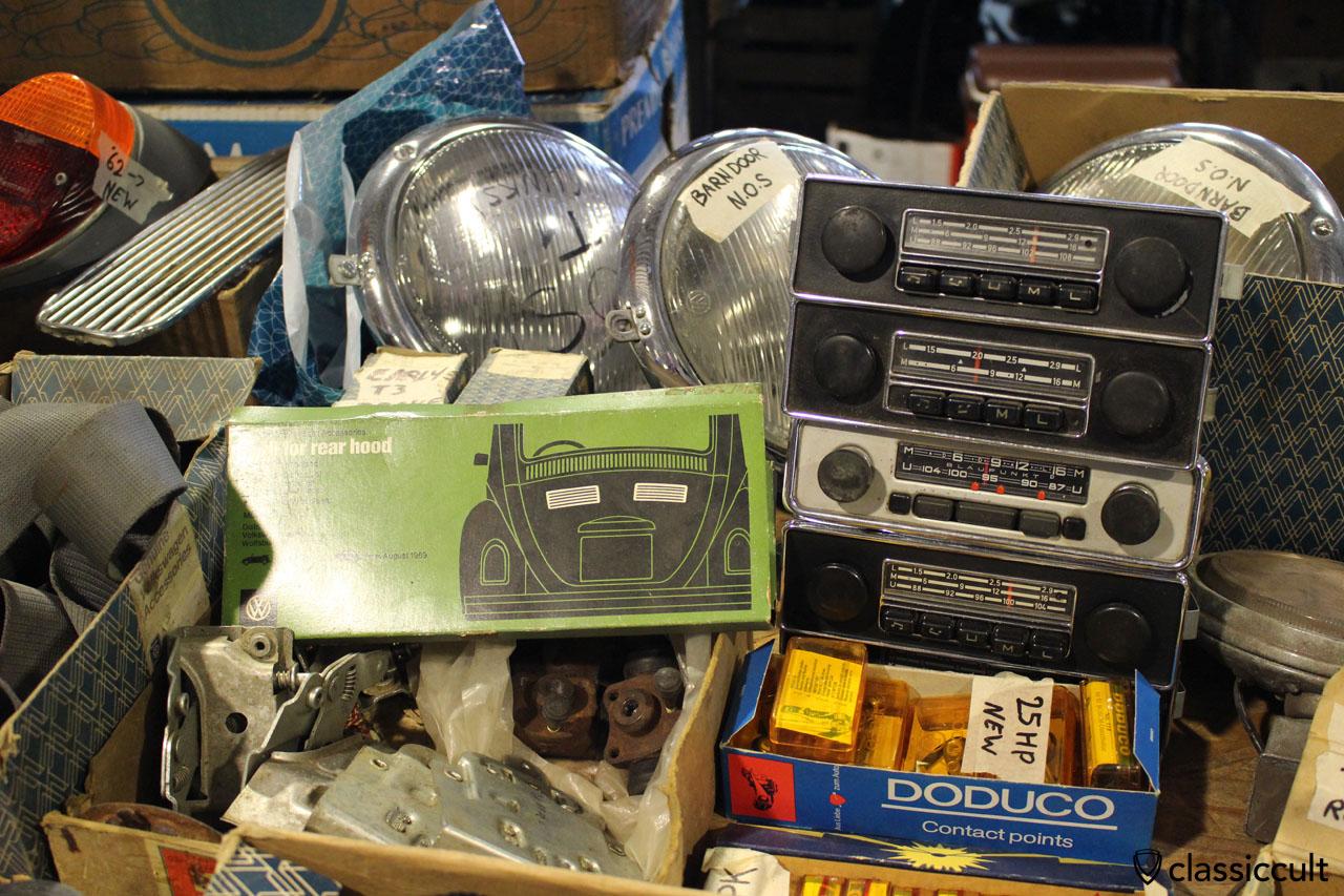 Radios from Blaupunkt, Barndoor Headlights NOS