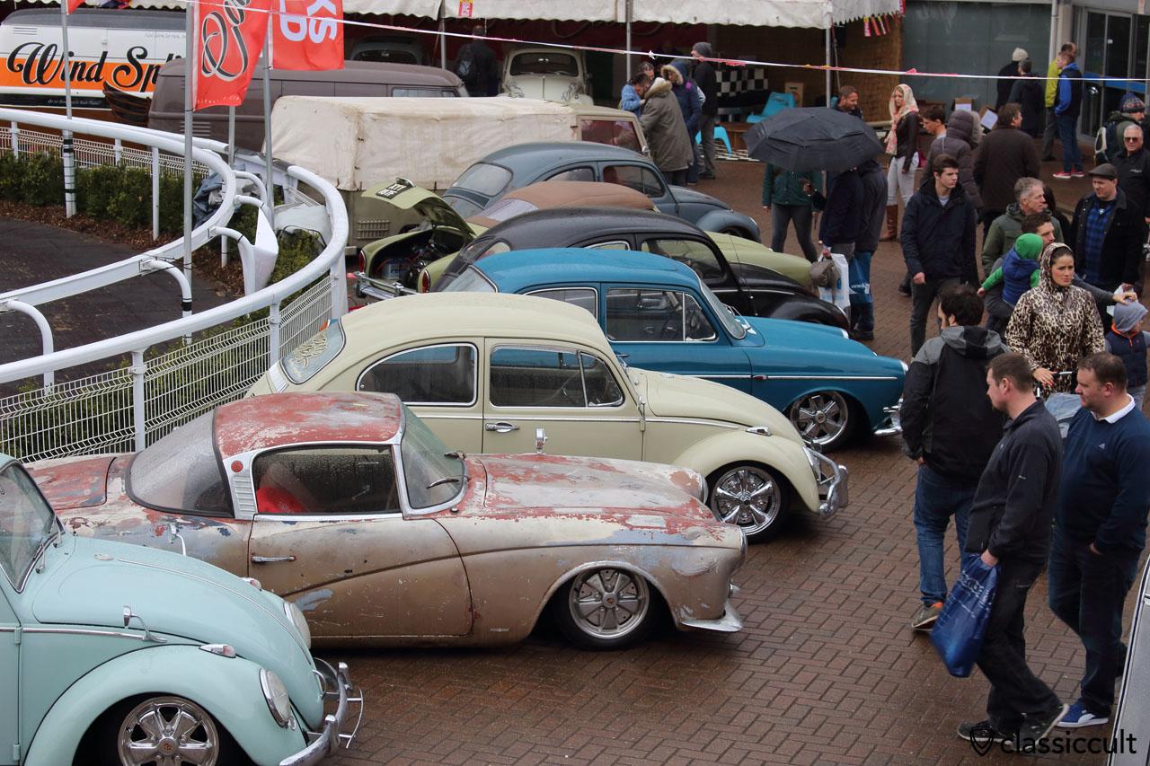 lowered VW Rometsch, Beetle, Type 3, Ghia