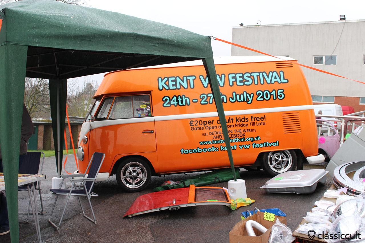 Kent VW Festival 24th - 27th July 2015 T1 Bus