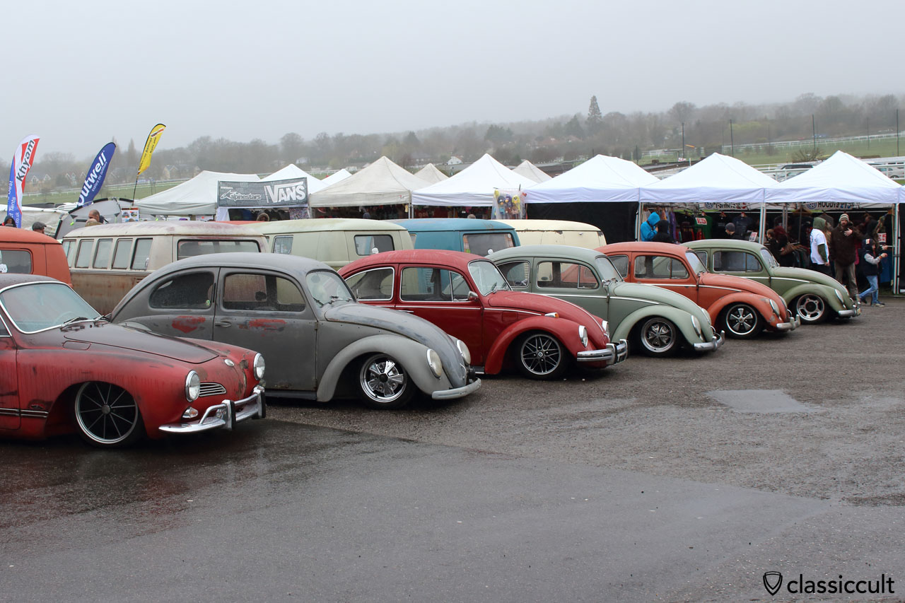 lowered Volkswagen at Volksworld VW Show UK 2015
