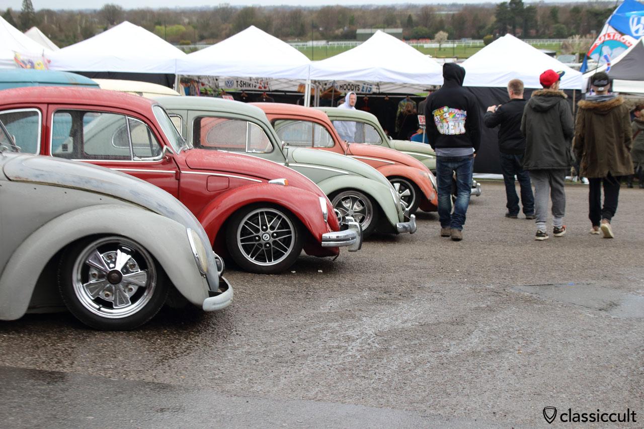 slammed VW Beetles, Volksworld 2015