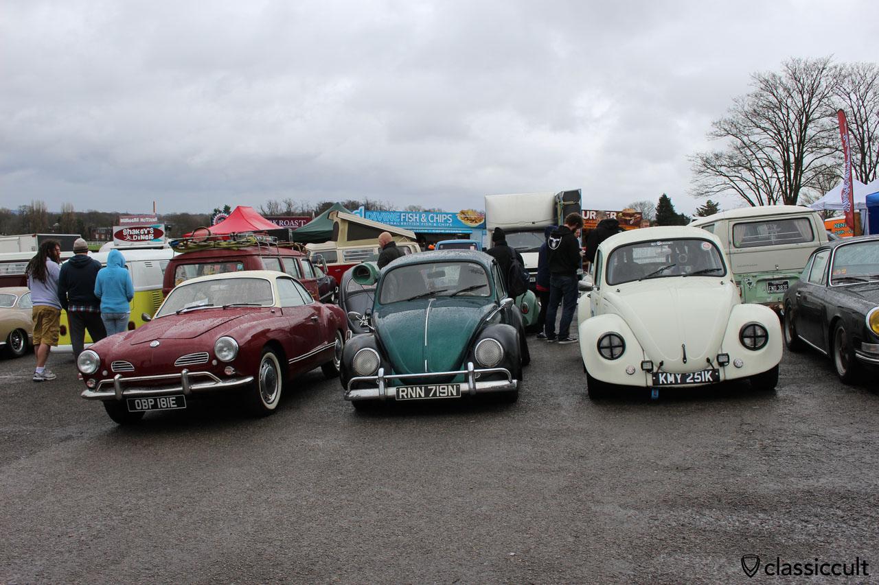 Karmann Ghia, VW Beetles