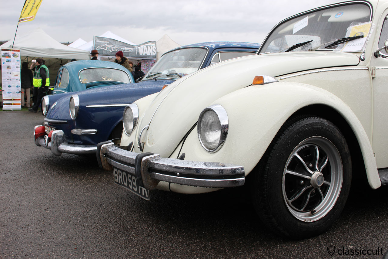 VW 1300 Beetle with rare Empi bumper guards (front bumper)