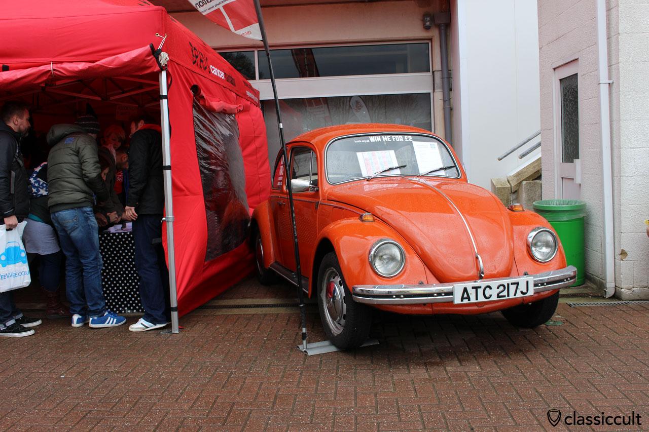 win a VW Beetle