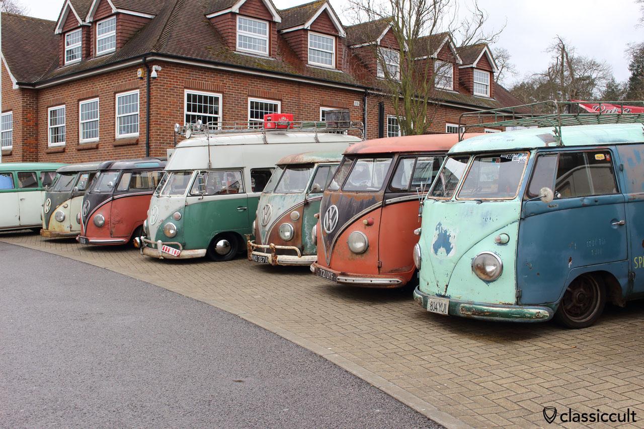 rusty T1 Split Bus Show & Shine
