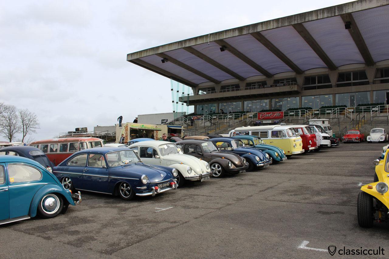 air cooled VWs at Volksworld