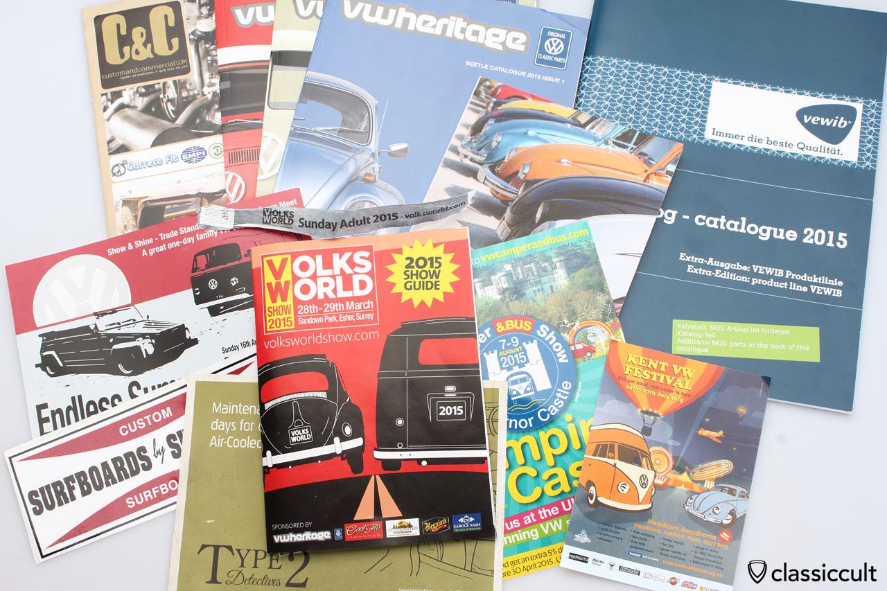 VolksWorld 2015 Show Guide
