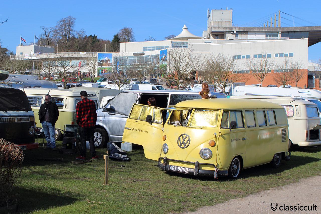 yellow Split Van