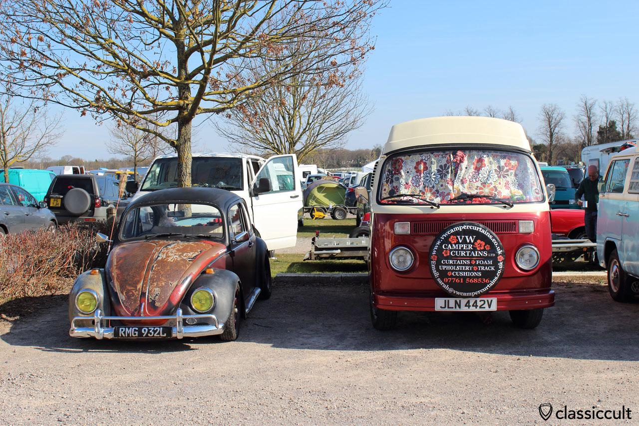 VW Camper Curtains UK