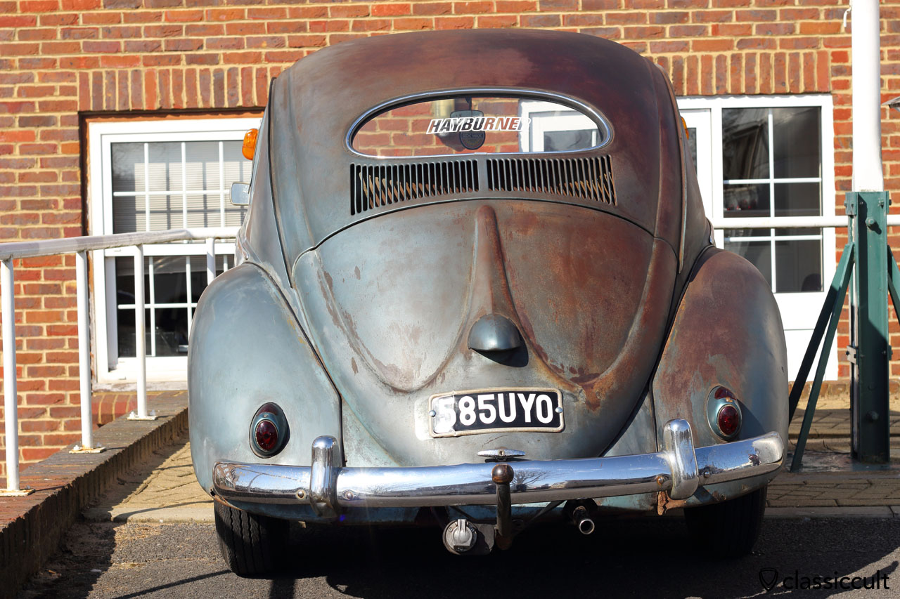 VW HAYBURNER Oval Bug with great patina