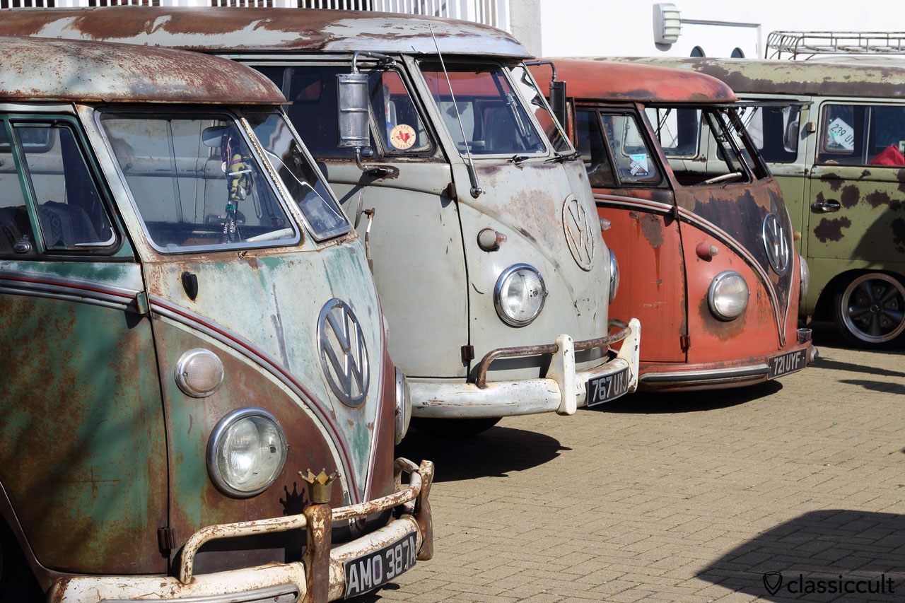 rusty VW T1 Splits