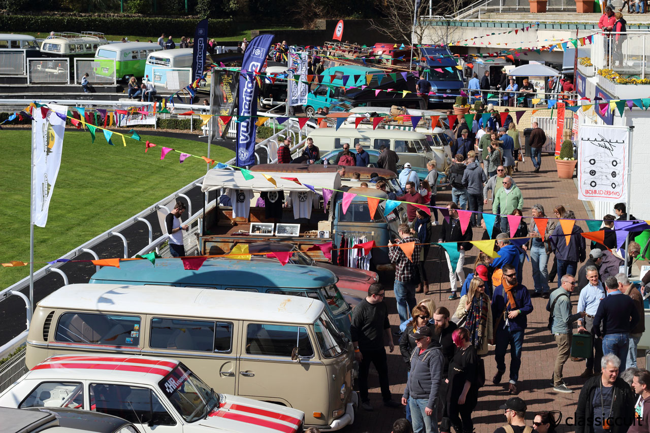 very busy Volksworld Show, 11:15 a.m., Saturday, April 2, 2016