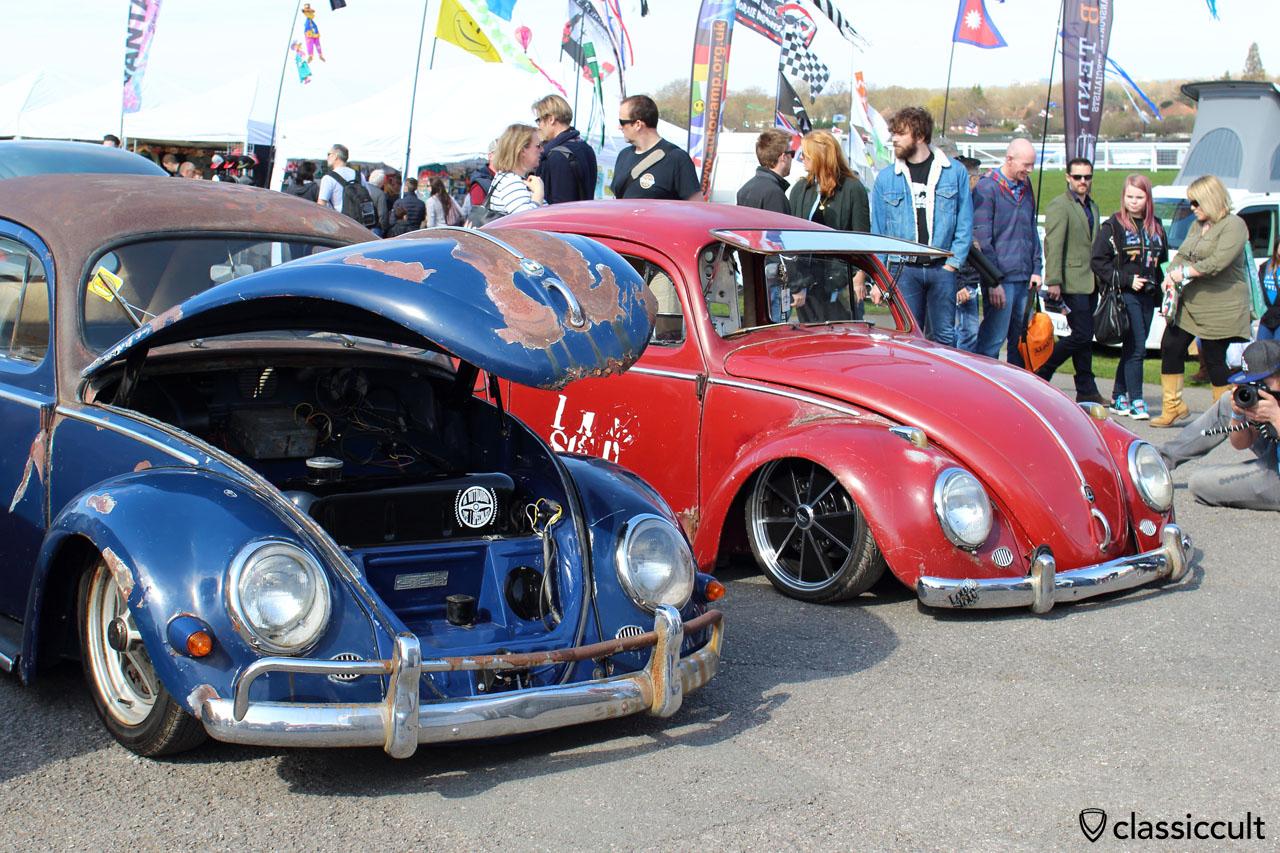 VW Beetle with Safari window