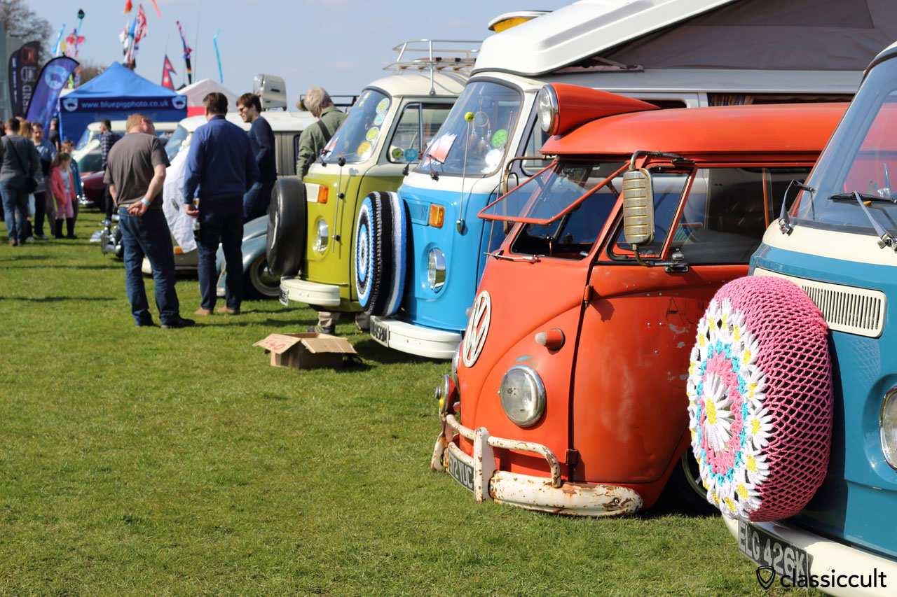 Split and Bay Lineup, Volksworld VW Show 2016