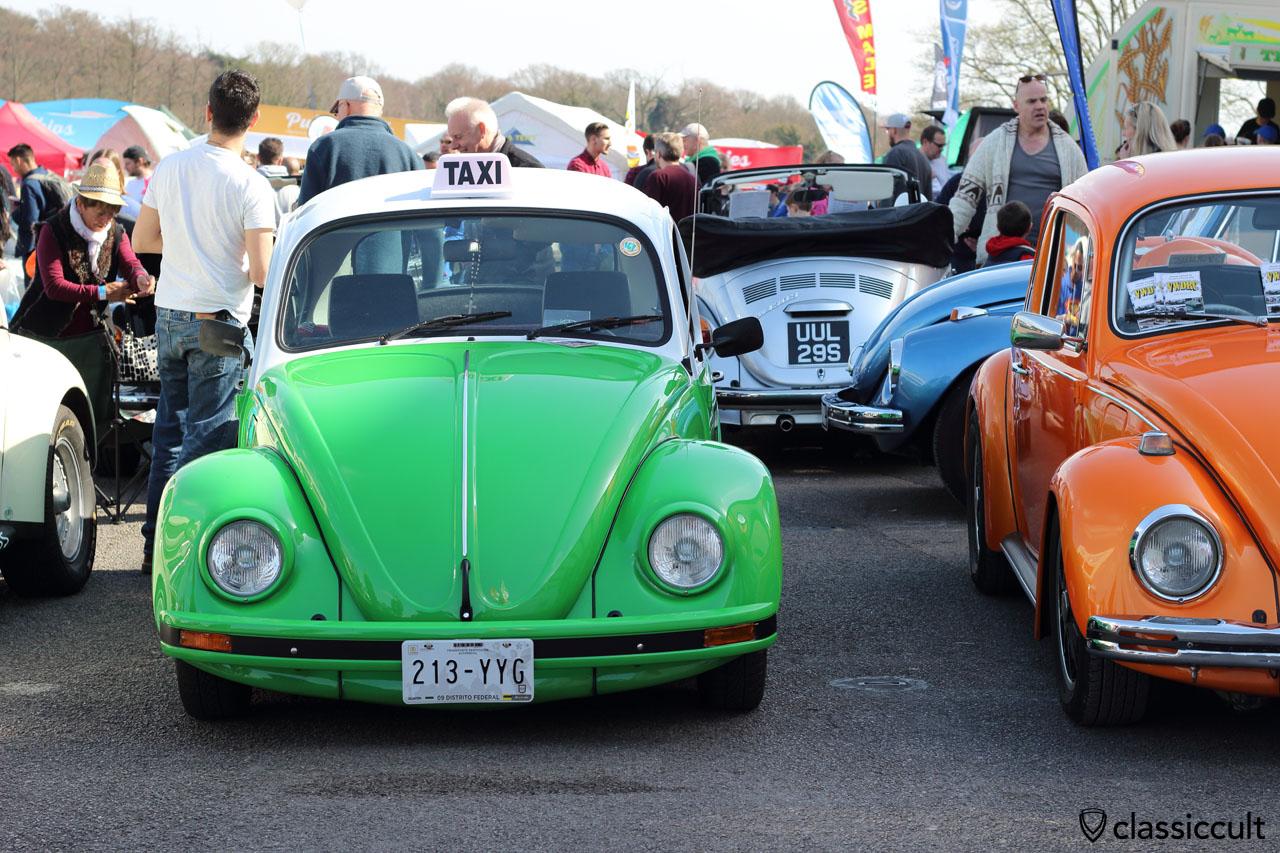 original Mexican VW Beetle Vocho Taxi, Distrito Federal, MX