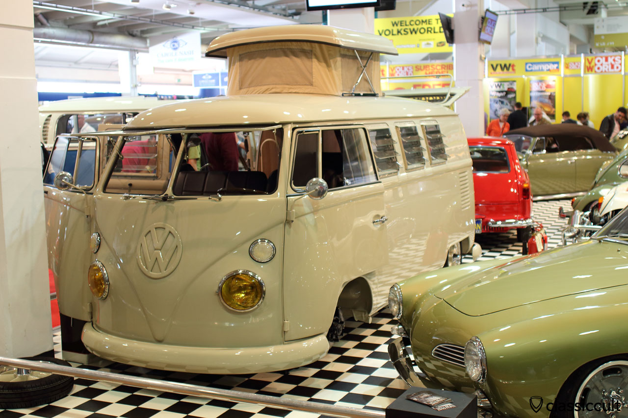1965 Split Westy with Safari windows and yellow headlights, Audrey Mauleau, Volksworld Best of Show 2016