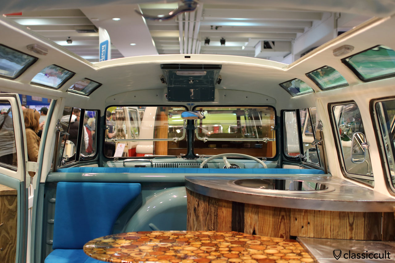 Split Bus custom interior