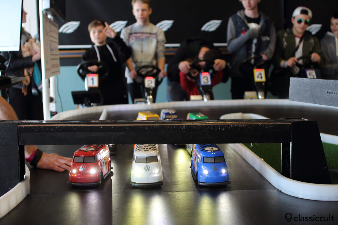 "slot car racing for the ""kids"""