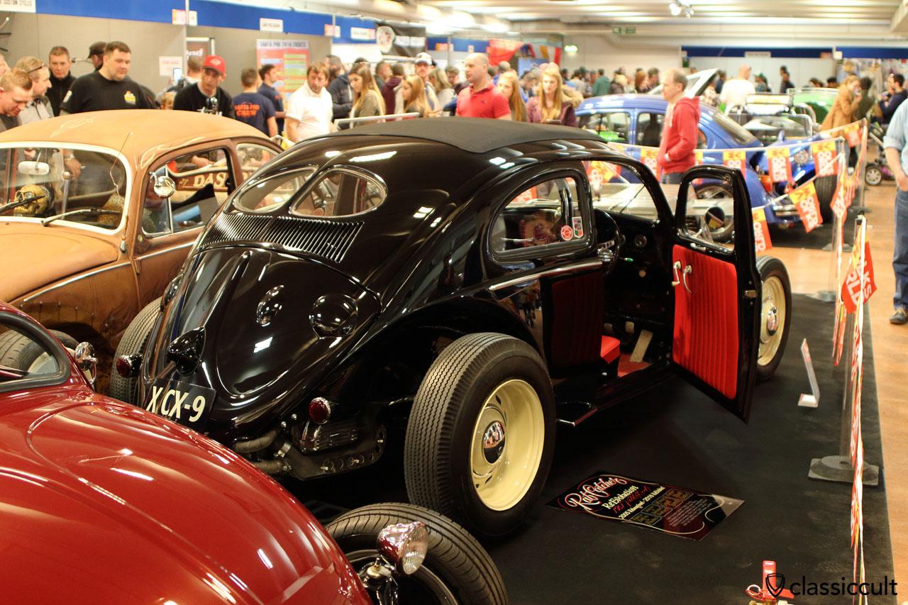 black Volksrod rear