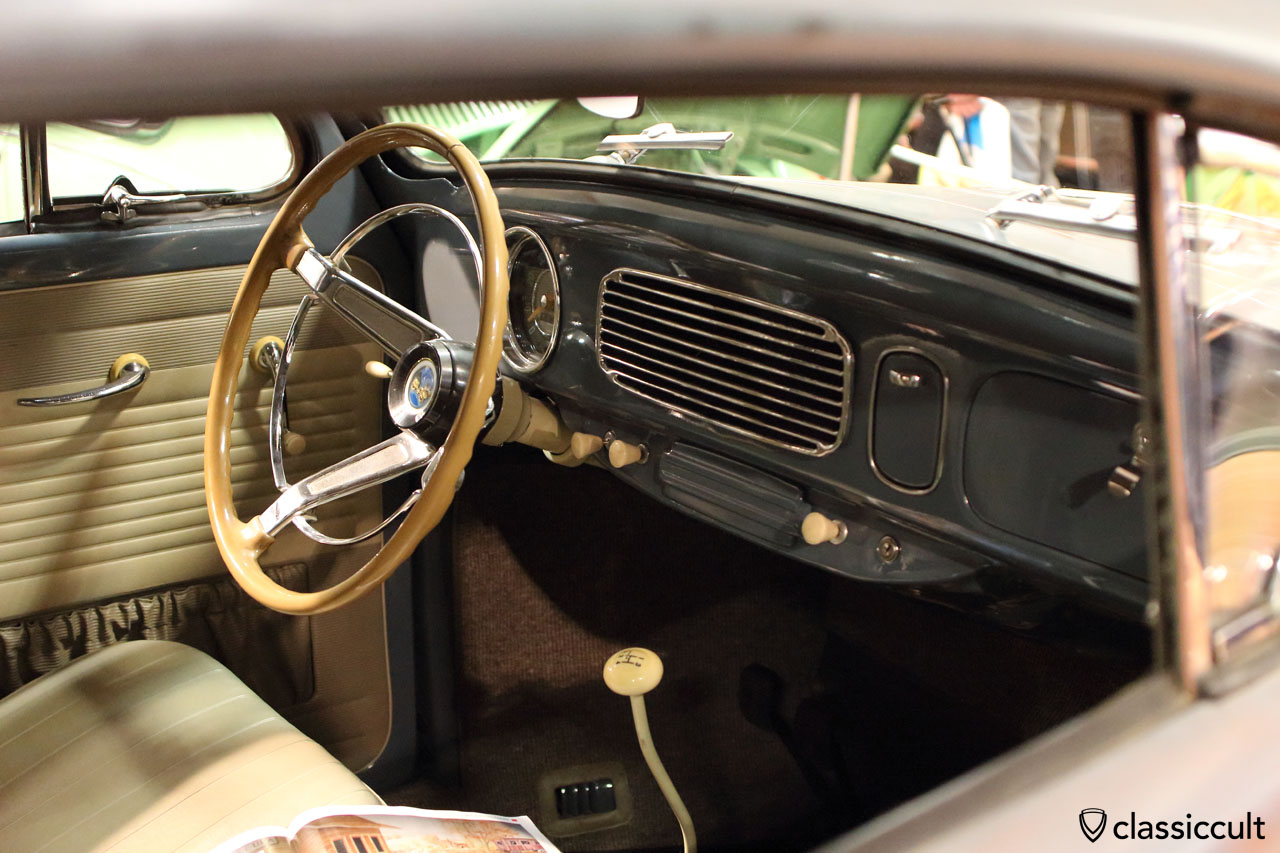 Rosenstiel Coupe with VW Oval dashboard