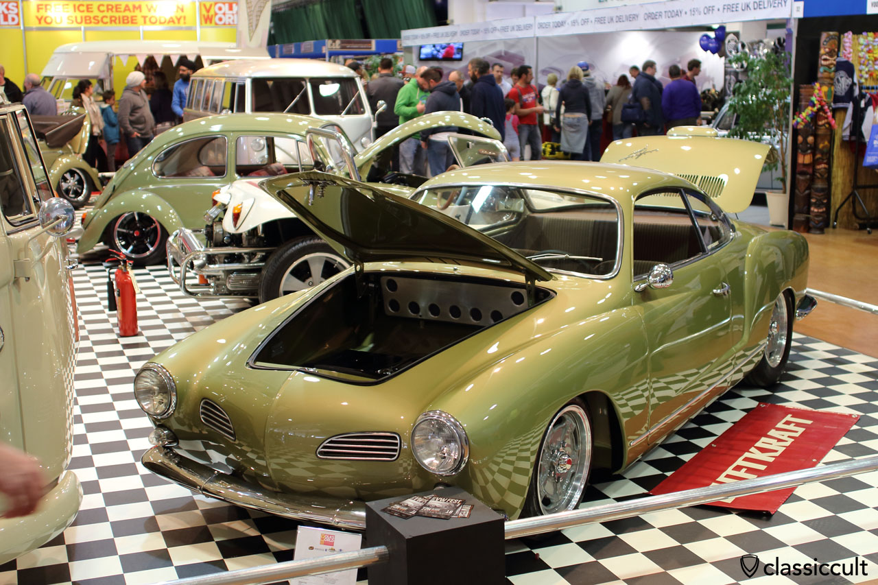 VolksWorld 2016, 1966 VW Karmann Ghia Type, Luftkraft