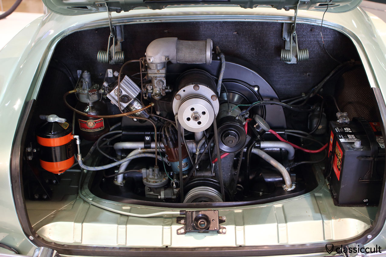 Judson supercharger engine in VW Karmann Ghia