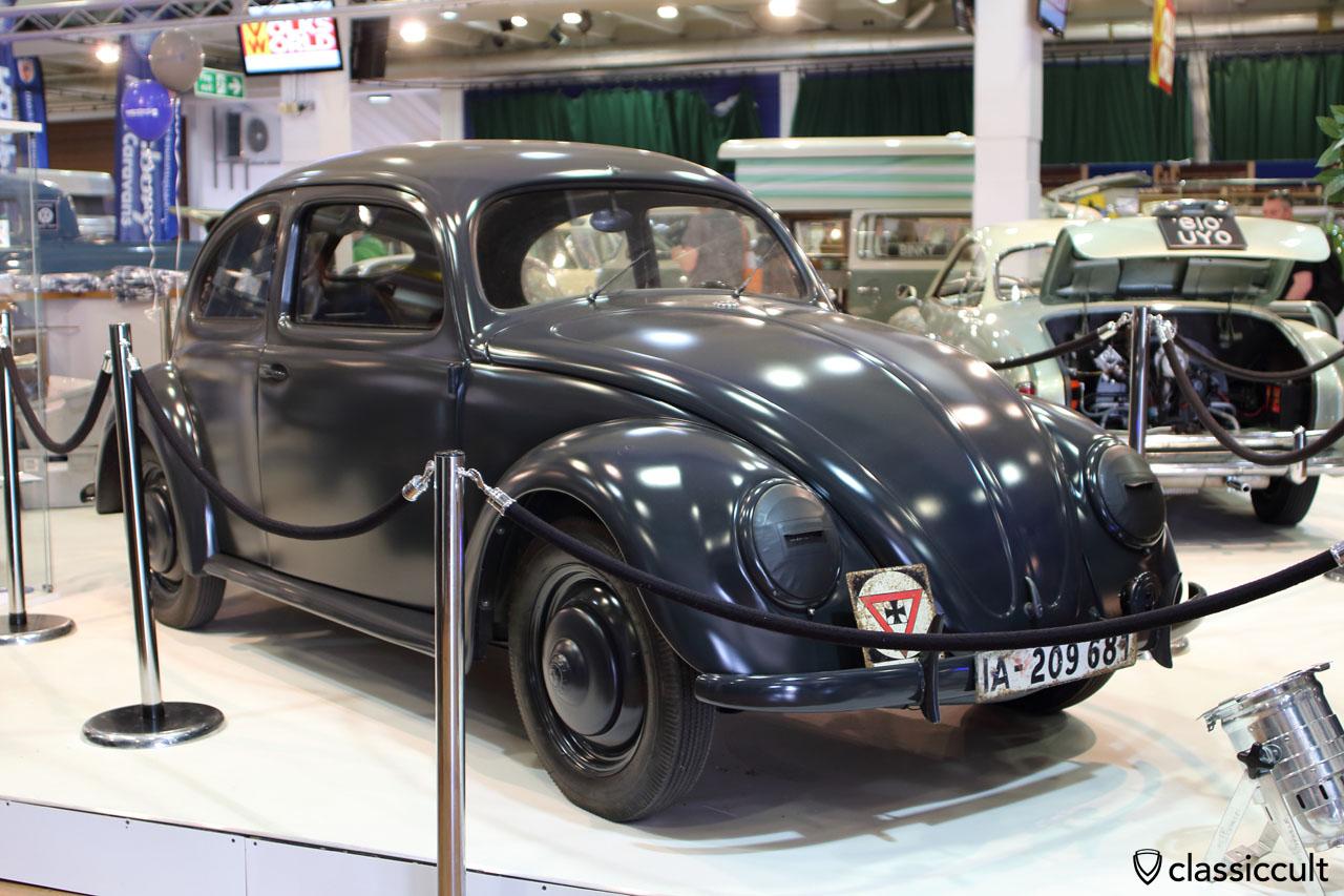 1943 VW KDF Beetle, Grundmann, Volksworld Show 2016