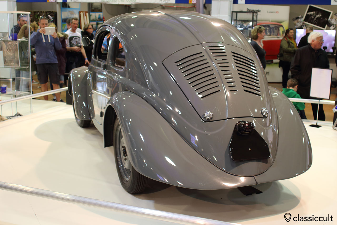 1937 VW Prototype V30, rear view