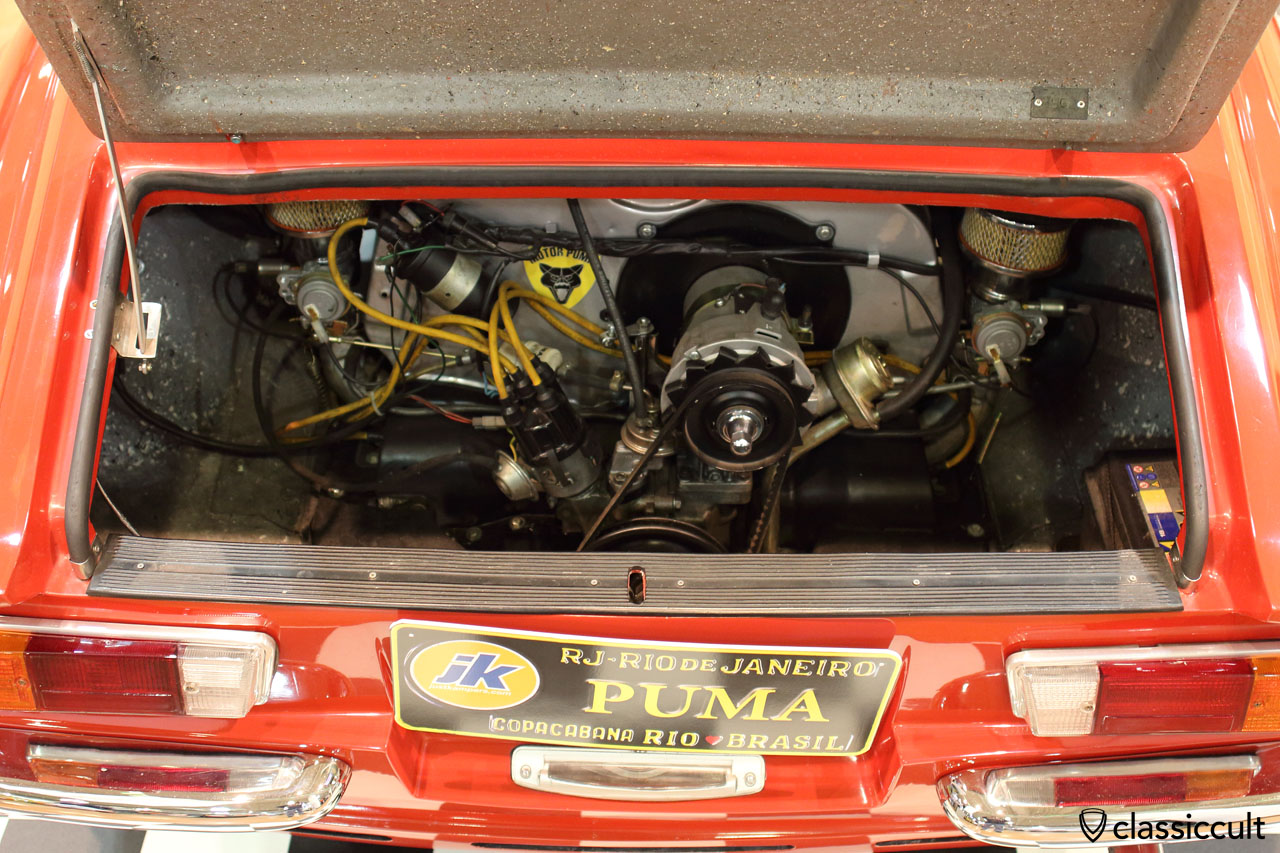 1975 Brazilian VW Puma GT air-cooled engine