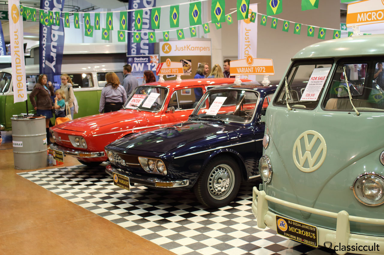 Brazilian Volkswagen at VolksWorld Show 2016