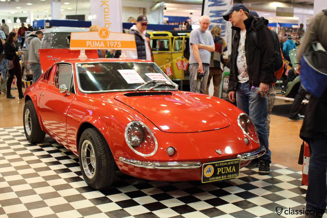 1975 Brazilian VW Puma GT, front view