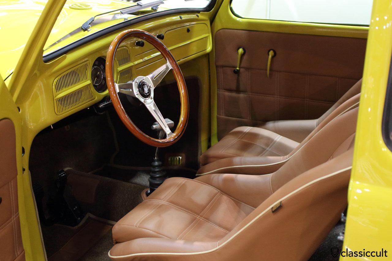 1961 Cal Look Bug dash view