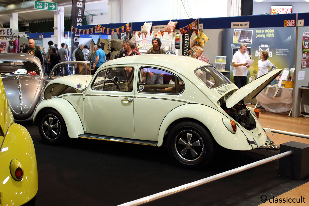 Cal Look VW Beetle with Fuchs wheels, DFL, Der Fieser Luftkühlers VW Club
