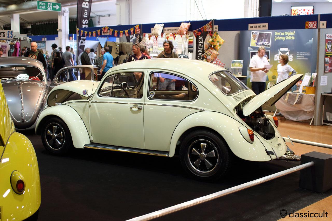 Cal Look VW Beetle with Fuchs wheels, DFL, Der Fieser Luftkühlers VW Club