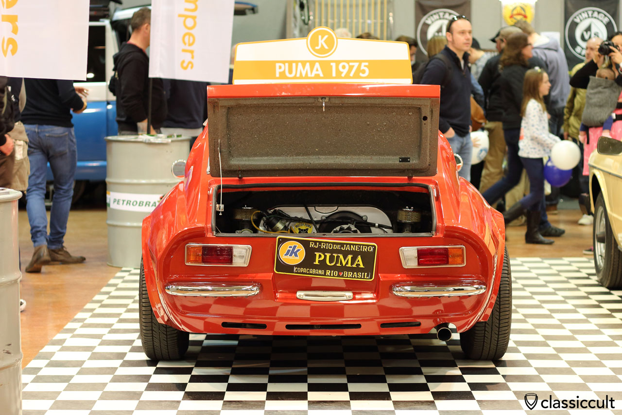 1975 Brazilian VW Puma GT, rear view