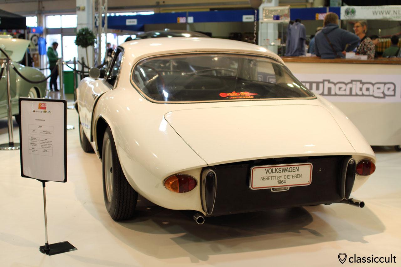 VW Neretti 1, rear view