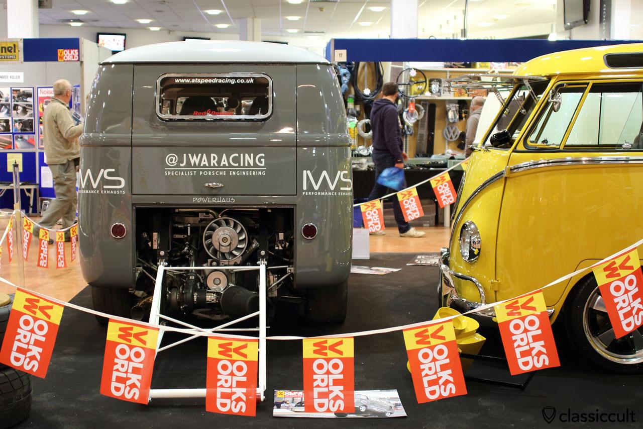 JWA Racing Powerhaus Spit Bus, rear
