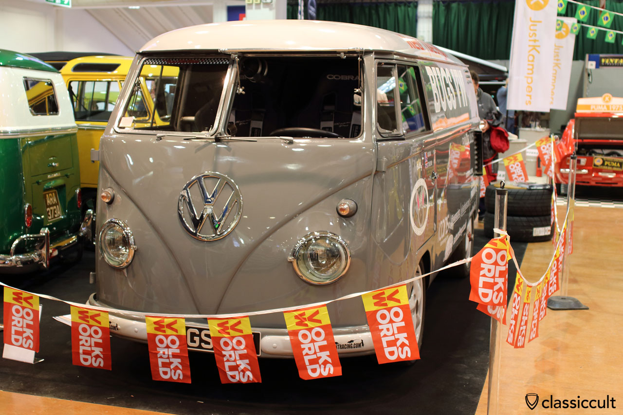 JWA Racing Powerhaus Spit Bus, front