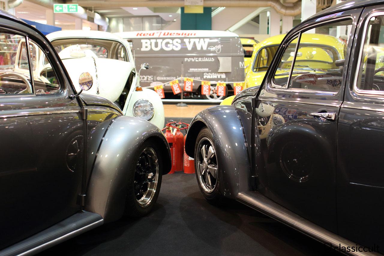 VW Beetles Show & Shine at VolksWorld Esher UK 2016