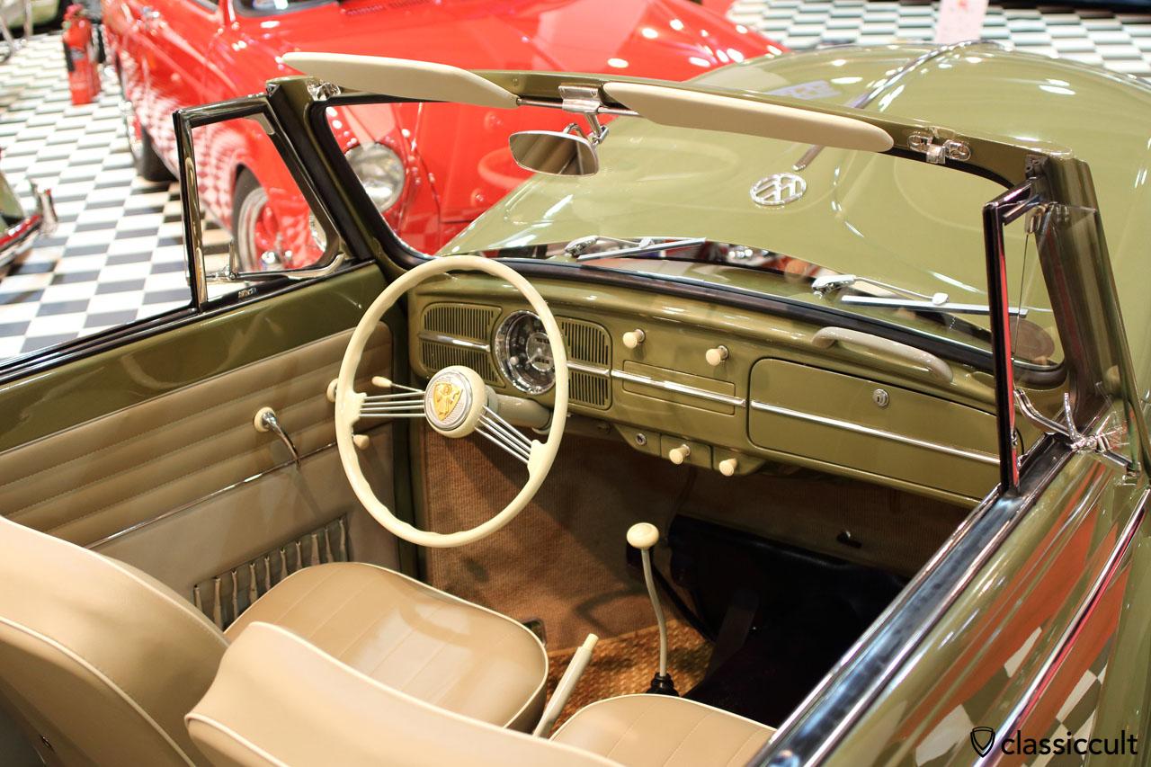 German Folks UK VW Vert with nice Petri steering wheel