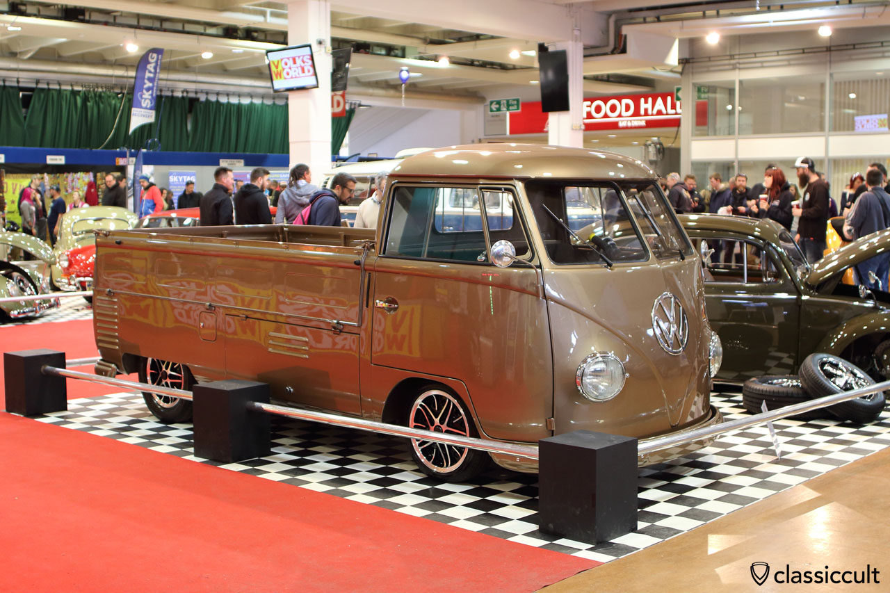 1957 VW Single Cab Split Bus, Volksworld Show 2016
