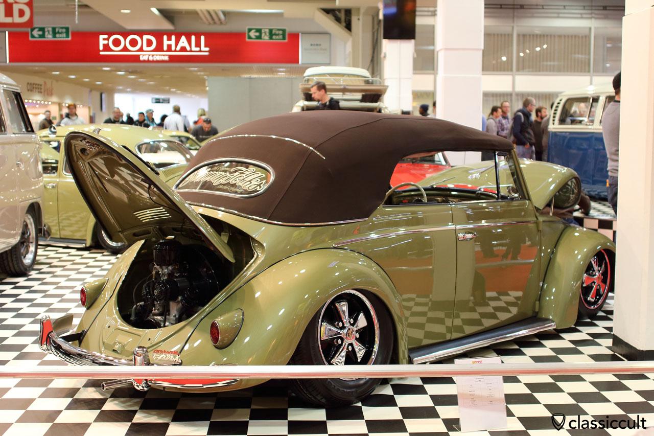 German Folks UK VW Vert with Porsche Fuchs wheels